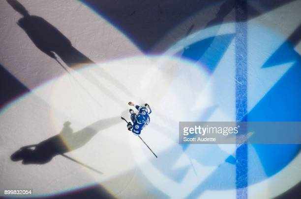 Nikita Kucherov of the Tampa Bay Lightning celebrates the win against the Montreal Canadiens at Amalie Arena on December 28 2017 in Tampa Florida 'n