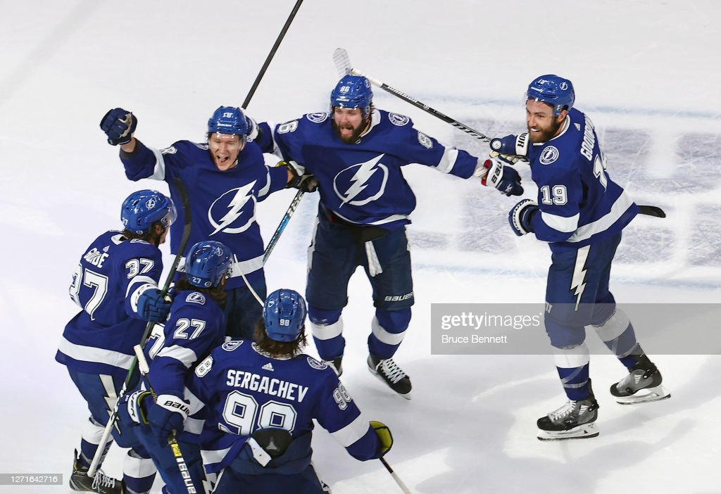 New York Islanders v Tampa Bay Lightning - Game Two : Foto di attualità