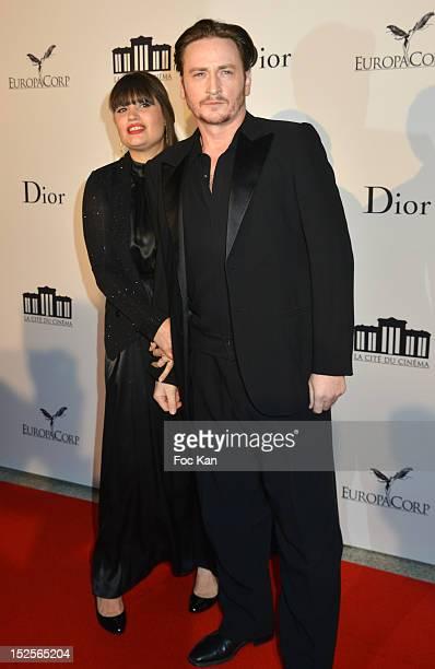 Nikita Lespinasse and Benoit Magimel attend 'La Cite Du Cinema' Launch - Red Carpet at Saint Denis on September 21, 2012 in Paris, France.