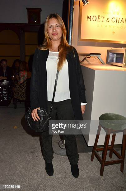 Nikita Lespinasse attends 'La Johnson' hosted by Le Baron Club 10th Anniversary At the Grand Palais on June 14, 2013 in Paris, France.