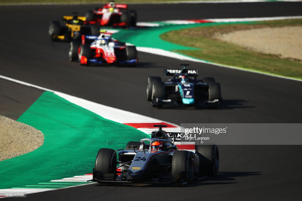 Formula 2 Championship - Round 9:Mugello - Feature Race : News Photo