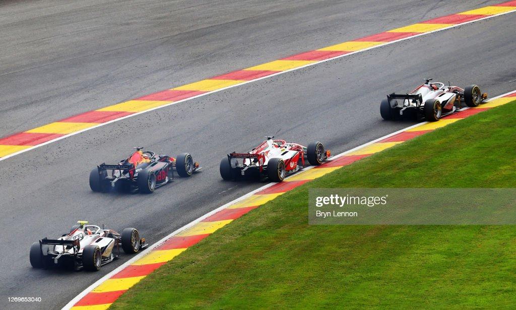 Formula 2 Championship - Round 7:Spa-Francorchamps - Sprint Race : News Photo