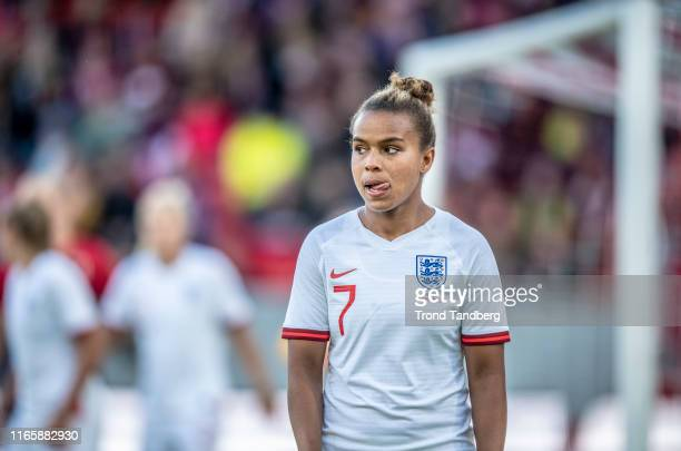 Nikita Parris of England during International Friendly Match between Norway Women and England Women at Brann Stadion on September 3, 2019 in Bergen,...