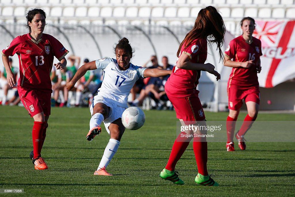 Serbia v England: UEFA Women's European Championship Qualifier