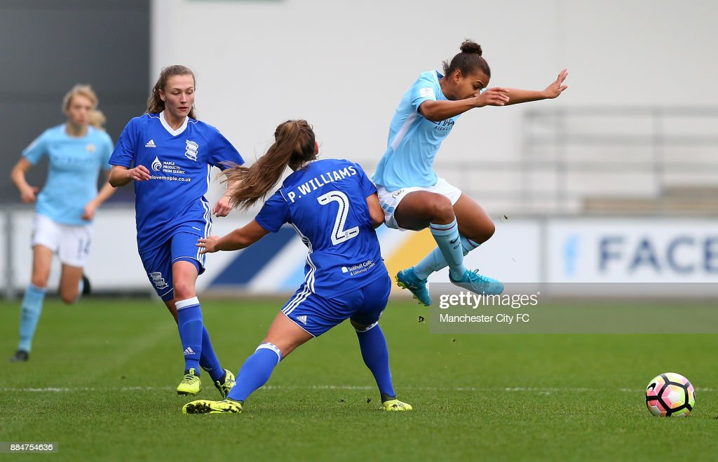 Manchester City Women v Birmingham City Ladies - FA WSL Continental Tyres Cup : News Photo