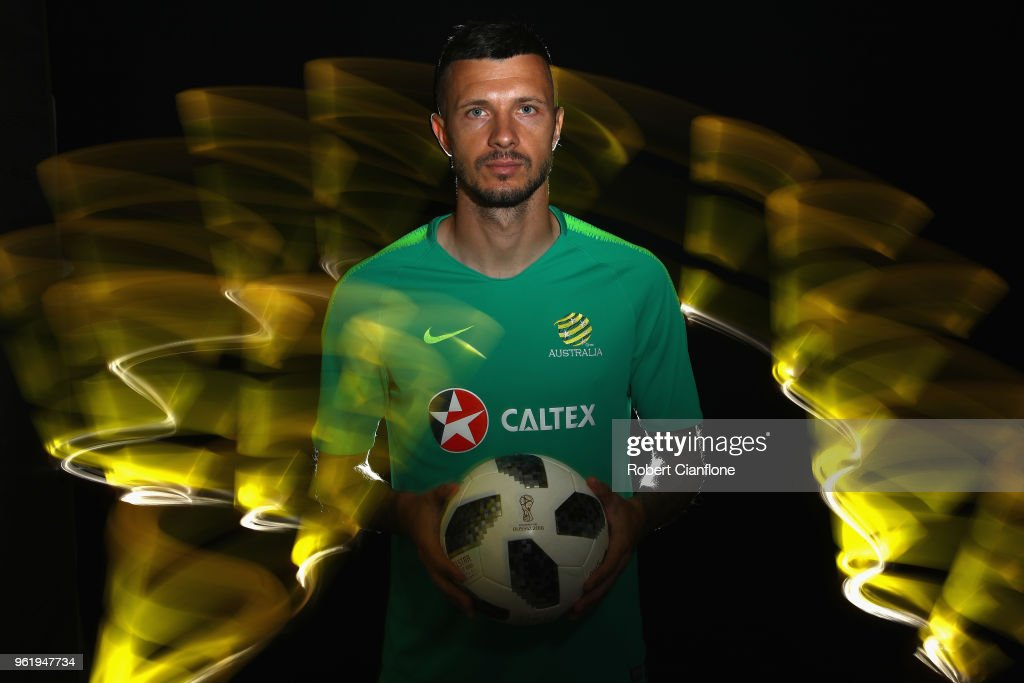 Australian Socceroos Media Opportunity & Training Session