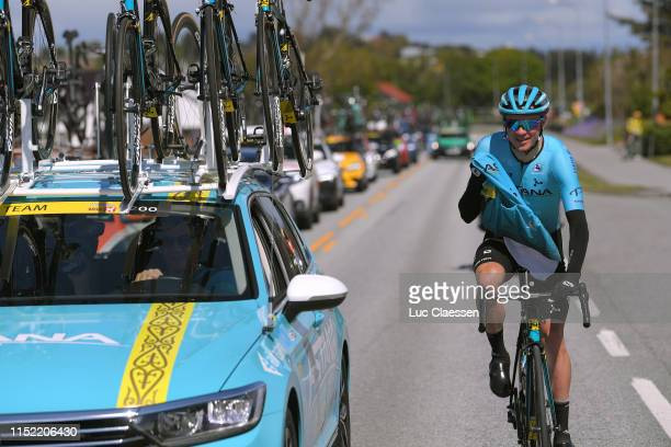Nikita Stalnov of Kazahkstan and Astana Pro Team / Car / during the 9th Tour of Norway 2019 Stage 1 a 1682km stage from Stavanger to Egersund /...