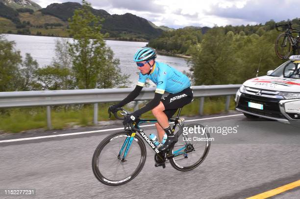 Nikita Stalnov of Kazahkstan and Astana Pro Team / during the 9th Tour of Norway 2019 Stage 1 a 1682km stage from Stavanger to Egersund /...