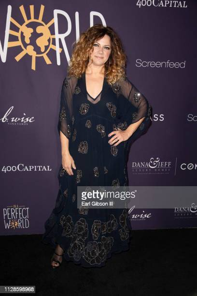 Nikka Costa attends In A Perfect World MAP Gala at The Jeremy Hotel on March 3 2019 in West Hollywood California