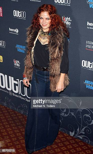 Nikka Costa attends the 15th annual OUT100 Awards at Gotham Hall on November 14 2008 in New York City