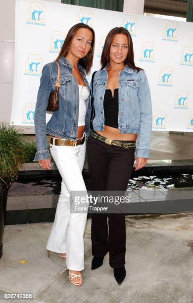 Nikki and Teena Collins at the Listen Everyone Has A Story to Tell premiere at the Los Angeles County Museum of Art's Bing Theater Listen is produced...