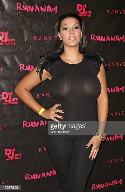 Nikki B attends the 'Runaway' New York premiere at Landmark's Sunshine Cinema on October 21 2010 in New York City