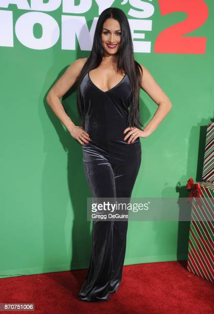 Nikki Bella arrives at the premiere of Paramount Pictures' Daddy's Home 2 at Regency Village Theatre on November 5 2017 in Westwood California