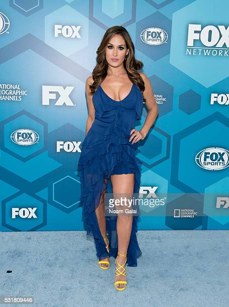Nikki Bella attends the 2016 Fox Upfront at Wollman Rink Central Park on May 16 2016 in New York City