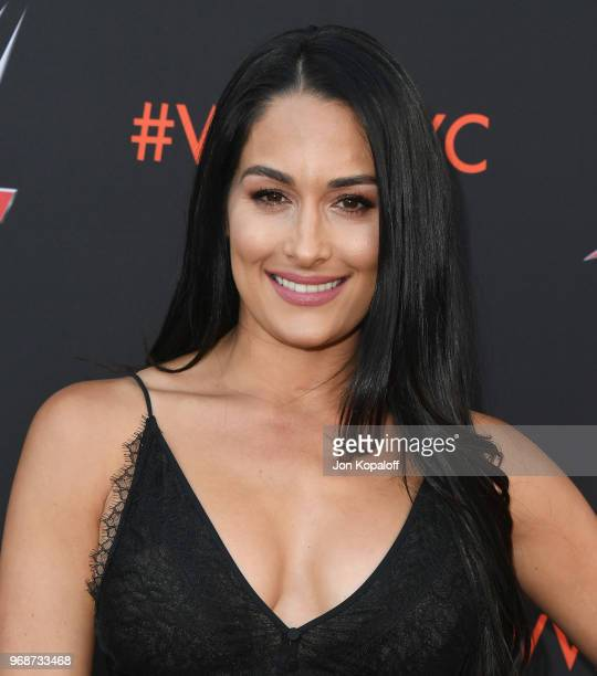 Nikki Bella attends WWE's FirstEver Emmy For Your Consideration Event at Saban Media Center on June 6 2018 in North Hollywood California