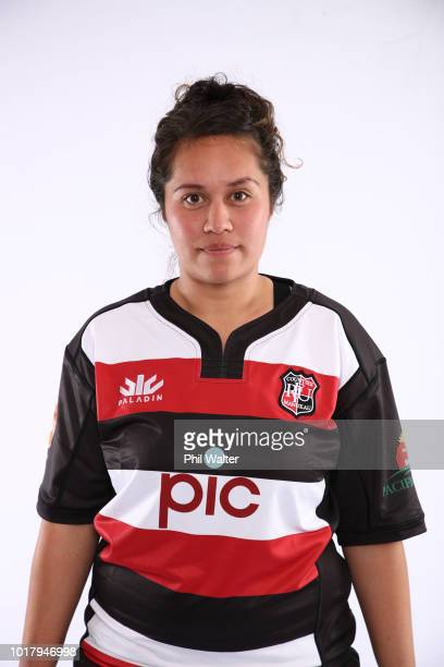 Nikki Bhana during a Counties Manukau Women's FPC Rugby headshot session on August 17 2018 in Auckland New Zealand