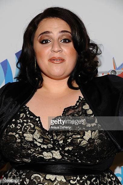Nikki Blonsky arrives at the 21st Annual GLAAD Media Awards at San Francisco Marriott Marquis on June 5 2010 in San Francisco California