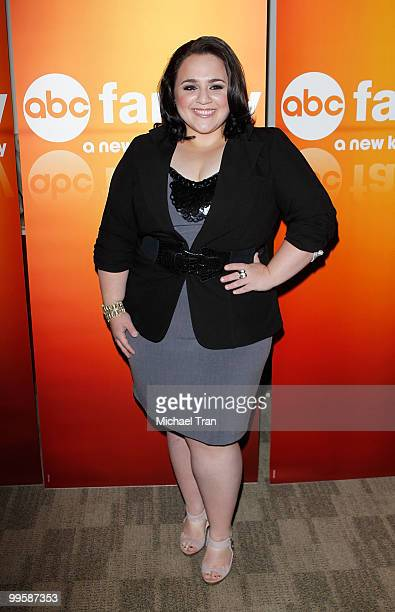 Nikki Blonsky arrives to the Disney/ABC Television Group press junket held at the ABC Television Network Building on May 15 2010 in Burbank California