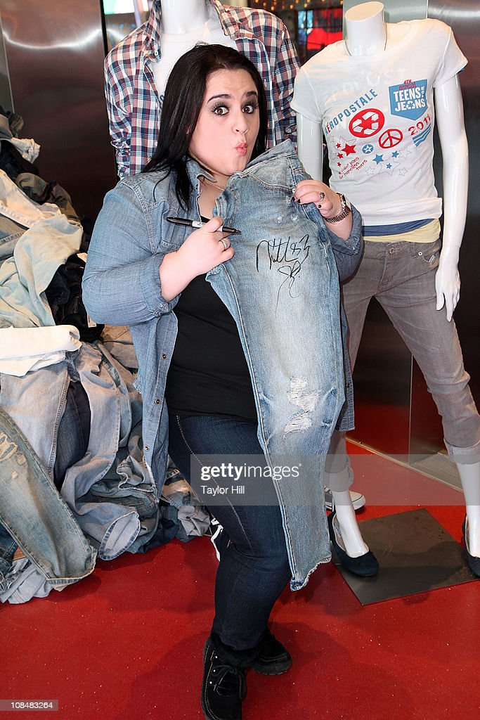 Nikki Blonsky attends DoSomething.org's 4th Annual Teens for Jeans initiative event at Aeropostale Times Square on January 28, 2011 in New York City.