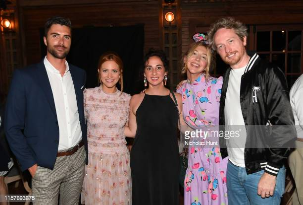 Nikki Blonsky Brittany Snow Sudi Green Heidi Gardner and Zeb Wells attend the Screenwriters Tribute at Sconset Casino during the 2019 Nantucket Film...