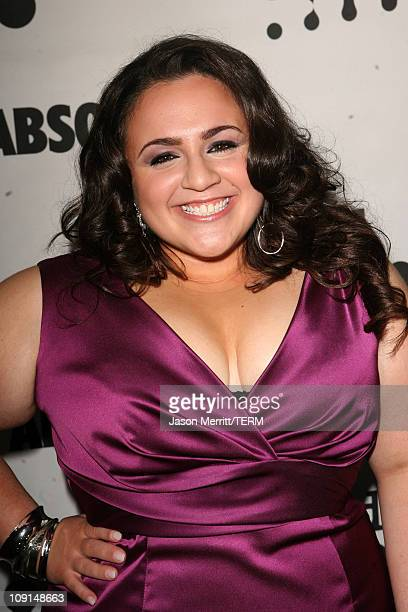 Nikki Blonsky during 18th Annual GLAAD Media Awards Arrivals at Kodak Theatre in Hollywood California United States