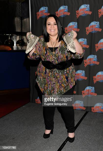 Nikki Blonsky promotes ABC Family's series Huge at Planet Hollywood Times Square on August 18 2010 in New York City