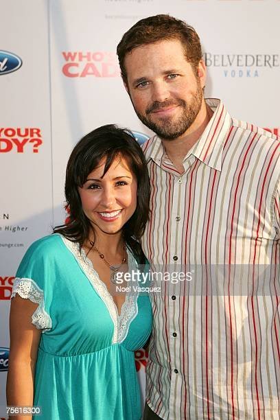 Nikki Boyer and David Denman arrive for the premiere of Who's Your Caddy at the Arclight Theater on July 23 2007 in Hollywood California