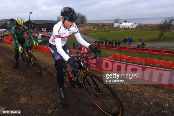 Nikki Brammeier of Great Britain and Team Great Britain / during the 70th Cyclo-cross World Championships Bogense 2019 - Training / Cross Denmark /...