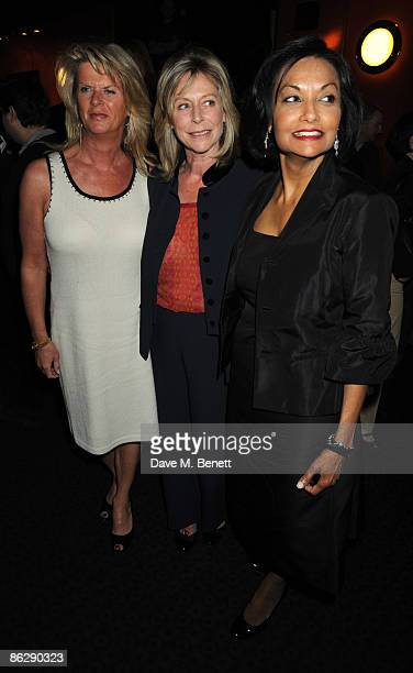 Nikki Caine Lorraine Ashton and Shakira Caine arrive at the London film premiere of 'Is Anybody There' at the Curzon Cinema Mayfair on April 29 2009...