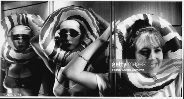 Nikki Caldwell Window Dresser at Sportgirl Pitt St Mall October 24 1990