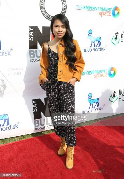 Nikki Castillo attends the 3rd Annual Say NO Bullying Festival at Griffith Park on October 14 2018 in Los Angeles California