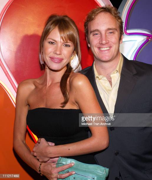 Nikki Cox and Jay Mohr during NBC 2006 TCA Winter AllStar Party Arrivals at Ritz Carlton in Pasadena California United States