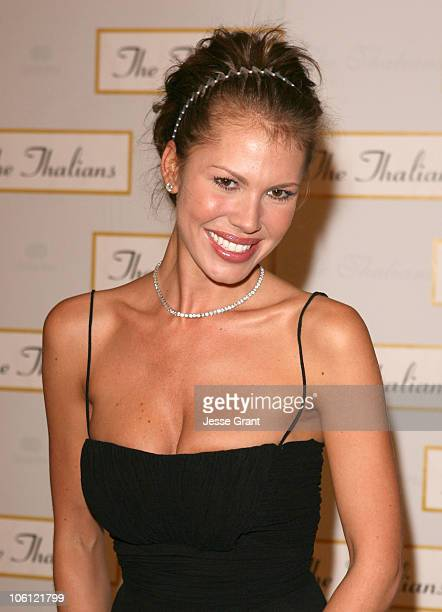 Nikki Cox during 51st Annual Thalians Ball Arrivals at Hyatt Regency Century Plaza in Century City California United States
