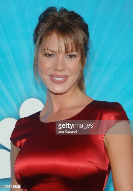 Nikki Cox during Las Vegas TCA Cocktail Party Arrivals at The Beverly Hilton Hotel in Beverly Hills California United States