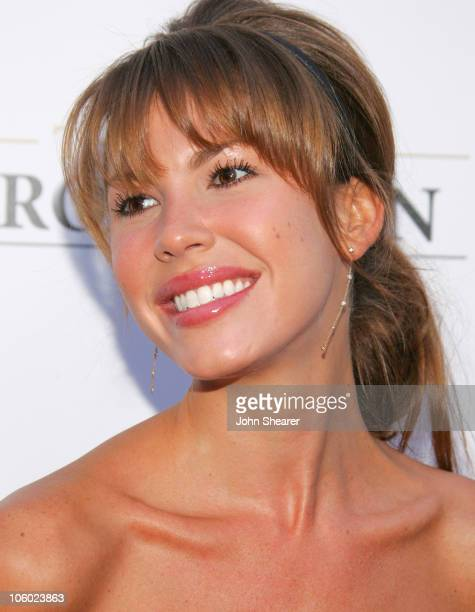 Nikki Cox during The Groomsmen World Premiere at The Arclight in Hollywood California United States