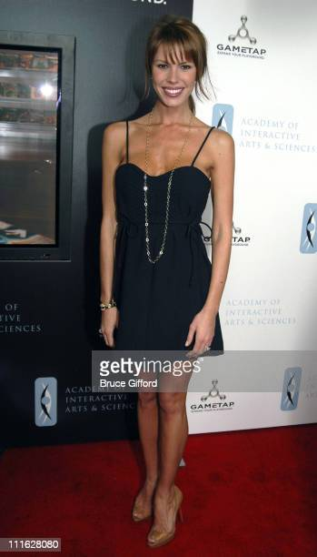Nikki Cox during The Ninth Annual Interactive Achievement Awards at The Joint The Hard Rock Hotel in Las Vegas Nevada United States