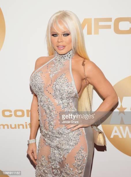 Nikki Delano attends the 2019 XBIZ Awards on January 17 2019 in Los Angeles California