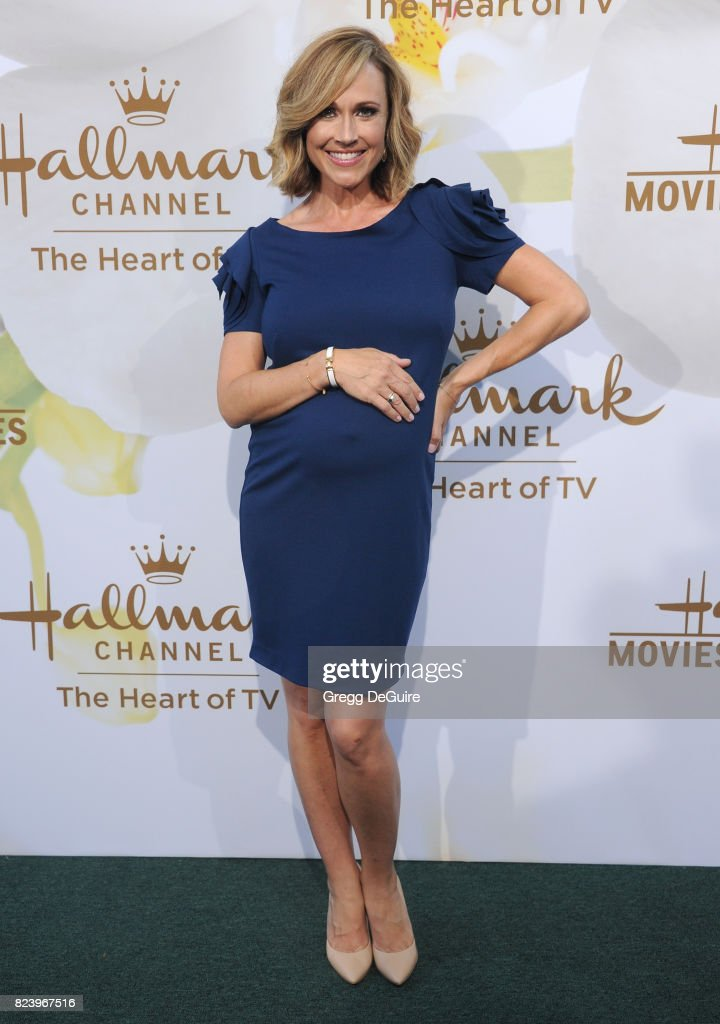 Nikki DeLoach arrives at the 2017 Summer TCA Tour - Hallmark Channel And Hallmark Movies And Mysteries at a private residence on July 27, 2017 in Beverly Hills, California.