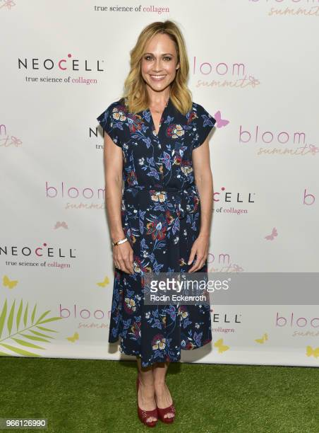 Nikki DeLoach arrives at the Inaugural Celebrity Bloom Summit at The Beverly Hilton Hotel on June 2 2018 in Beverly Hills California