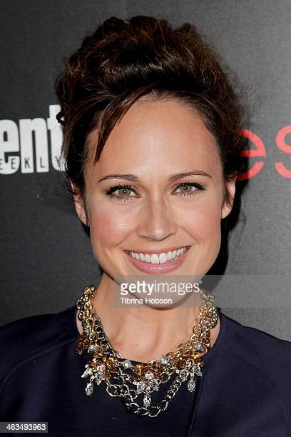 Nikki DeLoach attends the Entertainment Weekly SAG Awards preparty at Chateau Marmont on January 17 2014 in Los Angeles California