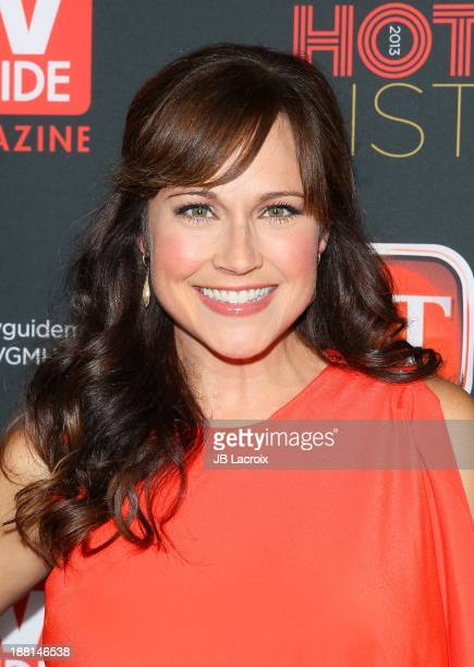 Nikki Deloach attends TV Guide Magazine's Annual Hot List Party at The Emerson Theatre on November 4 2013 in Hollywood California