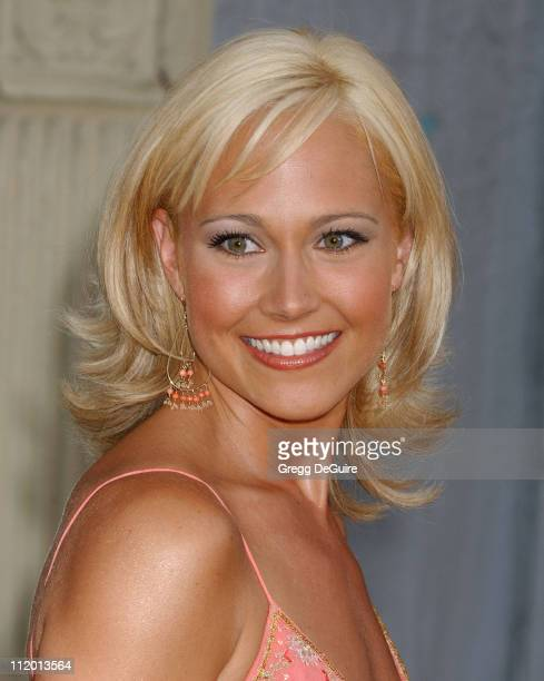 Nikki Deloach during 2004 Fox AllStar Party at 20th Century Fox Studios in Los Angeles California United States