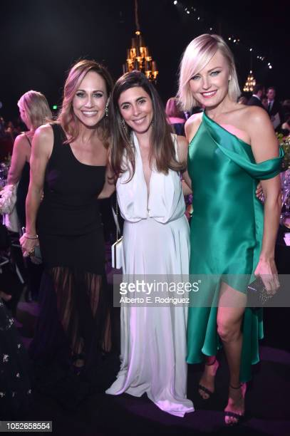 Nikki DeLoach JamieLynn Sigler and Malin Åkerman attend the 2018 Children's Hospital Los Angeles 'From Paris With Love' Gala at LA Live on October 20...