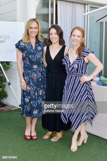 Nikki DeLoach Marla Sokoloff and Amy Davidson attend Neocell Presents Bloom Summit at The Beverly Hilton Hotel on June 2 2018 in Beverly Hills...