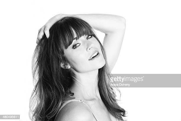 Nikki DeLoach poses for a private portrait photo session on March 25 2014 in Los Angeles California