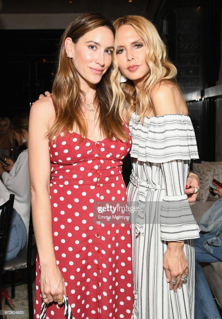 Nikki DeRoest and Rachel Zoe attend Summer '18 Box of Style by Rachel Zoe Soiree at Hotel Bel Air on June 12, 2018 in Los Angeles, California.