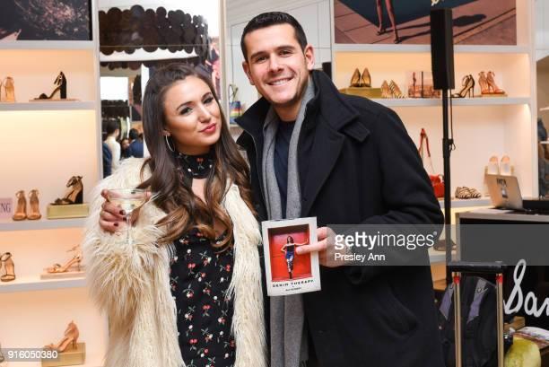 Nikki Freeman and Jordan Weinstein attend Sam Edelman NYFW Fashion Philanthropy on February 8 2018 in New York City