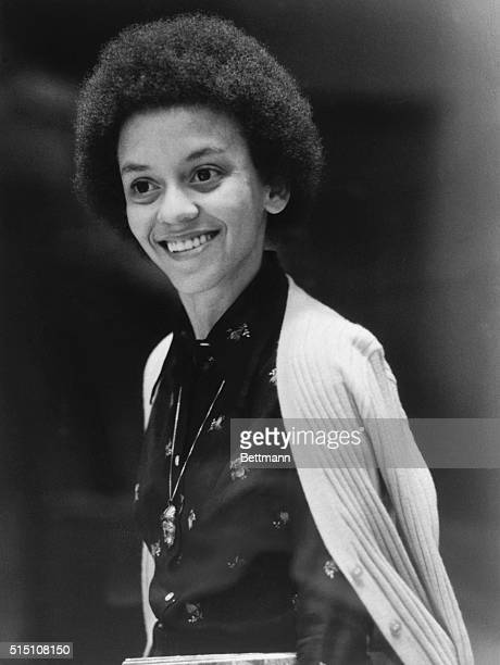 """Nikki Giovanni, America's number one black poetess, winner of the Ladies Home Journal 1973, and """"Woman of the Year"""" award, celebrated her 30th..."""