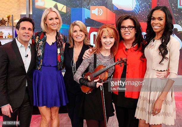 THE VIEW Nikki Glaser and Michelle Williams guest cohost Guests include Dr Oz and YouTube star Lindsey Stirling today Monday January 12 2015 on ABC's...