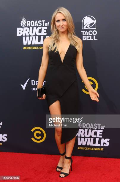 Nikki Glaser arrives to the Comedy Central Roast of Bruce Willis held on July 14 2018 in Los Angeles California